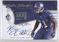 Rookie Authentics Signatures - Kenny Phillips /399