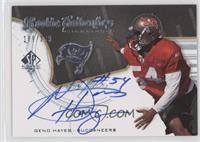 Rookie Authentics Signatures - Geno Hayes /399