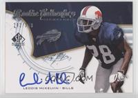 Rookie Authentics Signatures - Leodis McKelvin #/399