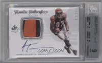 Rookie Authentics Auto Patch - Andre Caldwell /999 [BGS 9]