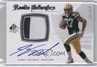 Rookie Authentics Auto Patch - Jordy Nelson #156/999
