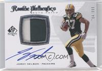 Rookie Authentics Auto Patch - Jordy Nelson /999
