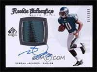 Rookie Authentics Auto Patch - DeSean Jackson #/999