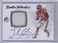 Rookie Authentics Auto Patch - Jamaal Charles #/999