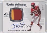 Rookie Authentics Auto Patch - Jamaal Charles /999