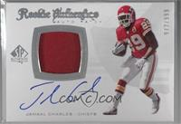 Rookie Authentics Auto Patch - Jamaal Charles [Noted] #/999