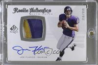 Rookie Authentics Auto Patch - Joe Flacco #356/999