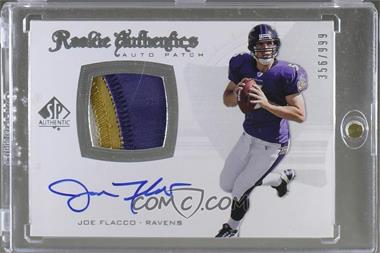 2008 SP Authentic - [Base] #295 - Rookie Authentics Auto Patch - Joe Flacco /999