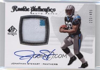 2008 SP Authentic - [Base] #305 - Rookie Authentics Auto Patch - Jonathan Stewart /499