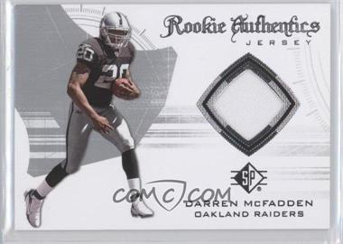 2008 SP Authentic - Rookie Authentics Jerseys - Retail #RA-19 - Darren McFadden