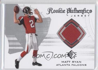 2008 SP Authentic - Rookie Authentics Jerseys - Retail #RA-24 - Matt Ryan