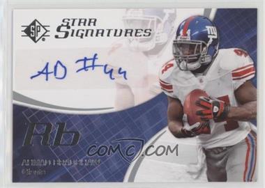 2008 SP Authentic - Star Signatures #SPSS-10 - Ahmad Bradshaw