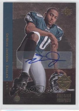 2008 SP Rookie Edition - [Base] - Autograph [Autographed] #214 - DeSean Jackson