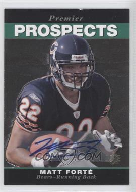 2008 SP Rookie Edition - [Base] - Autograph [Autographed] #269 - Matt Forte
