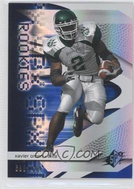 2008 SPx - [Base] - Rookies Blue #93 - Xavier Omon /299