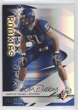 2008 SPx - [Base] - Rookies Blue #94 - Spencer Larsen /299