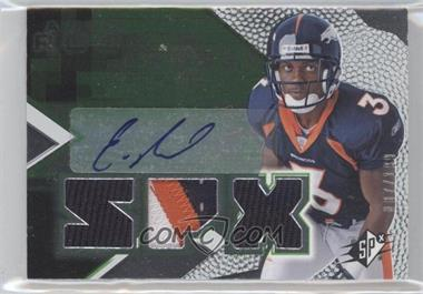 2008 SPx - [Base] - Rookies Green #173 - Eddie Royal /199