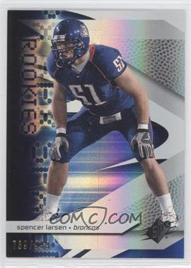 2008 SPx - [Base] #94 - Spencer Larsen /999