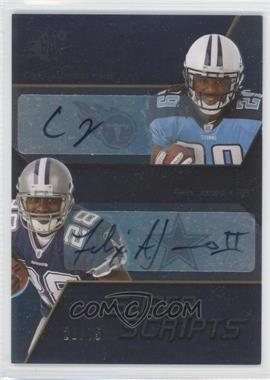 2008 SPx - Super Scripts - Duals #SSD36 - Chris Johnson, Felix Jones /75