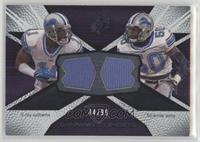 Roy Williams, Ernie Sims #/99