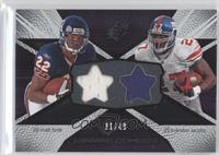 Matt Forte, Brandon Jacobs /49
