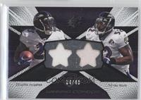 Willis McGahee, Ray Lewis /49