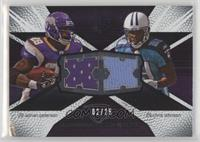 Adrian Peterson, Chris Johnson [Noted] #/25