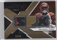 Chad Johnson #/15