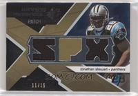 Jonathan Stewart [EX to NM] #/15