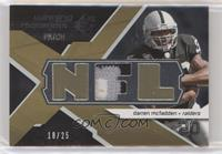 Darren McFadden [EX to NM] #/25