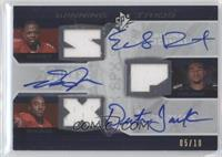 Early Doucet, Dexter Jackson, DeSean Jackson /10