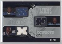 Kevin Smith, Felix Jones, Chris Johnson /99