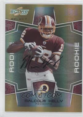 2008 Score Select - [Base] - Gold Zone Signatures [Autographed] #371 - Malcolm Kelly /40
