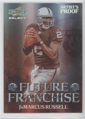 2008 Score Select - Future Franchise - Artist's Proof #FF-1 - JaMarcus Russell /32