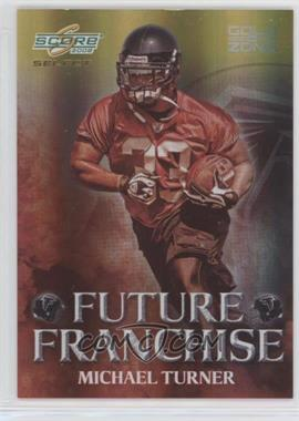 2008 Score Select - Future Franchise - Gold Zone #FF-14 - Michael Turner /50