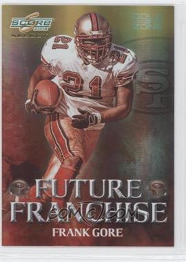 2008 Score Select - Future Franchise - Gold Zone #FF-23 - Frank Gore /50
