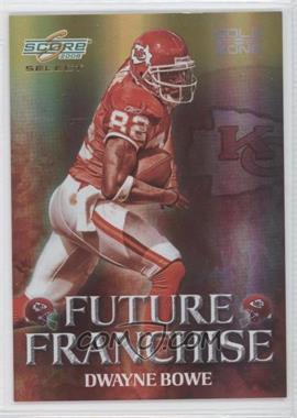 2008 Score Select - Future Franchise - Gold Zone #FF-8 - Dwayne Bowe /50