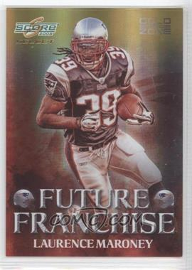 2008 Score Select - Future Franchise - Gold Zone #FF-9 - Laurence Maroney /50