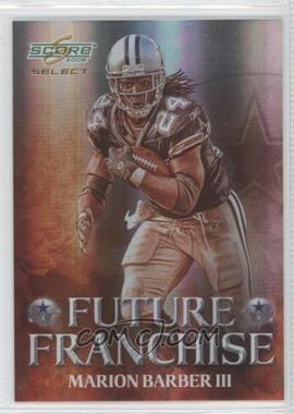 2008 Score Select - Future Franchise #FF-10 - Marion Barber III /999