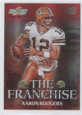 2008 Score Select - The Franchise - Red Zone #F-6 - Aaron Rodgers /30