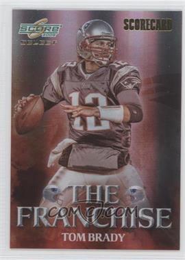 2008 Score Select - The Franchise - Scorecard #F-2 - Tom Brady /100