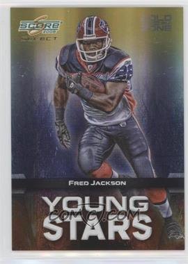 2008 Score Select - Young Stars - Gold Zone #YS-19 - Fred Jackson /50
