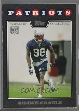 2008 Topps - [Base] - Black #423 - Shawn Crable /53 [Noted]
