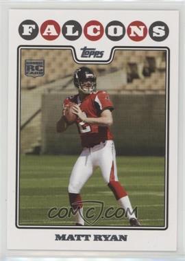 2008 Topps - [Base] #331.1 - Matt Ryan (Helmet On)