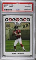Matt Ryan (Helmet On) [PSA 10]