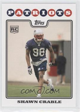 2008 Topps - [Base] #423 - Shawn Crable