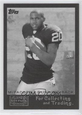 2008 Topps - Mayo's Cut Plug Retro Rookies - Black & White #5 - Darren McFadden