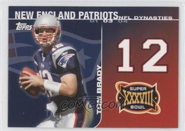 2008 Topps - NFL Dynasties Tribute #DYN-TB - Tom Brady