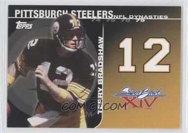 2008 Topps - NFL Dynasties Tribute #DYN-TBR2 - Terry Bradshaw