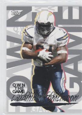 2008 Topps - Own the Game #OTG-LT - LaDainian Tomlinson